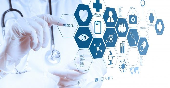 Blockchain development in healthcare field